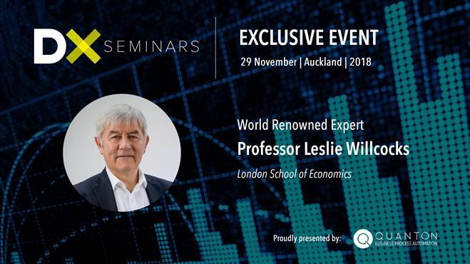 Robotic Process Automation Event Professor Leslie Willcocks
