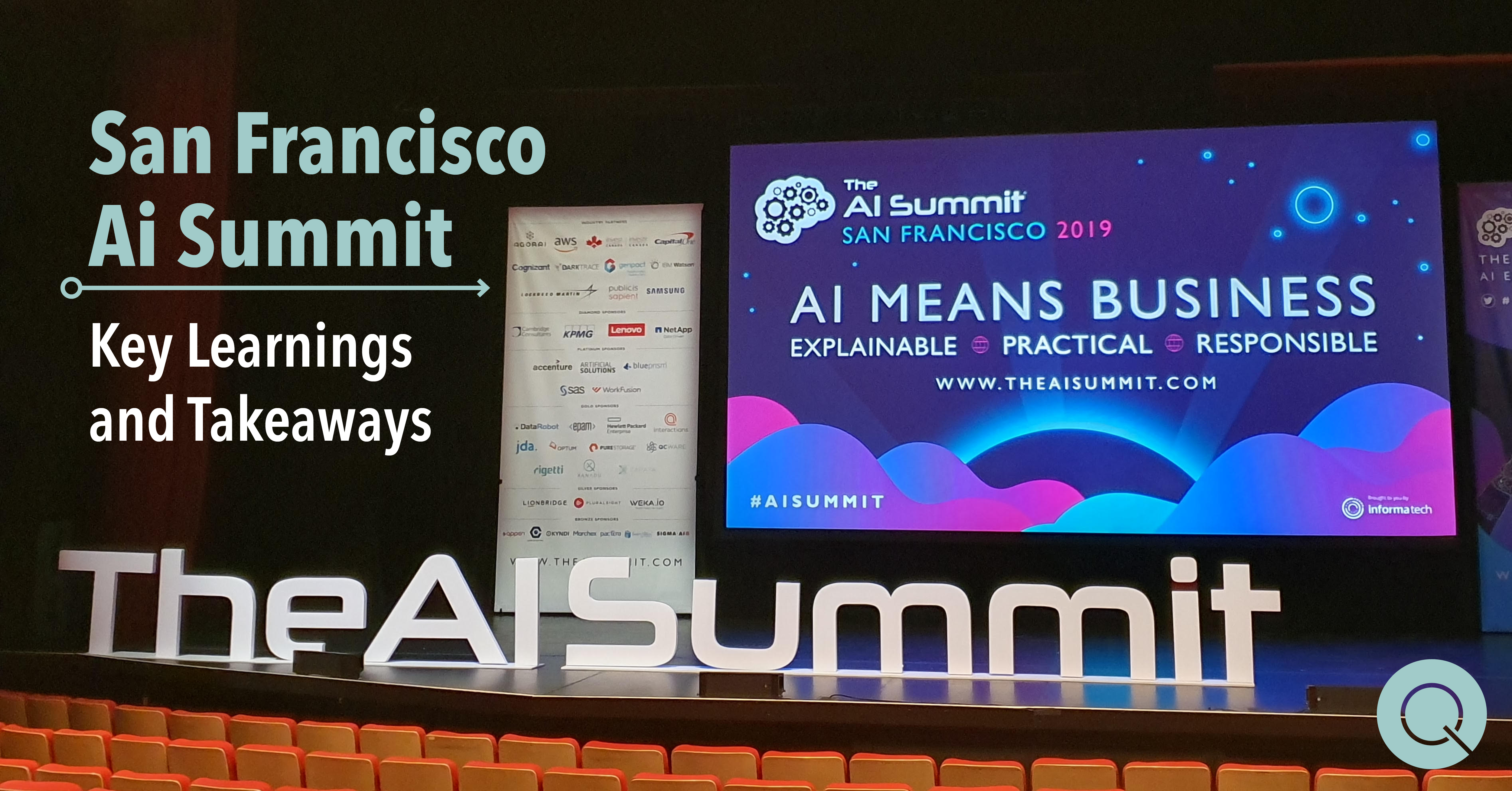 Ai Summit San Francisco Key Learning and Takeaway